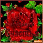Открытка 10000 пожеланий счастья