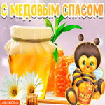 Анимация с медовым спасом