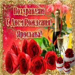 Букет роз в твой день рождения, Ярослава
