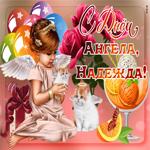 Чудесное поздравление с днем ангела Надежде