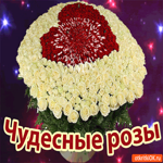 Чудесные розы для тебя