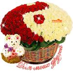 Для моих друзей цветы в подарок