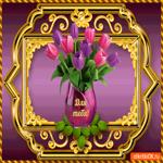 Для тебя, тюльпаны нежные от меня
