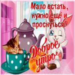 Доброе утро тебе друг