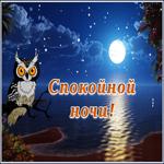 Экзотическая открытка спокойной ночи