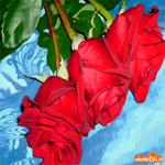 Эти прекрасные розы для тебя