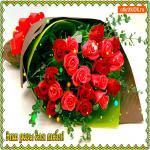 Эти роза для тебя милая