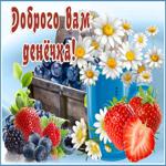 Картинка добрый день с ягодами