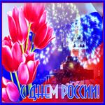 Картинка гиф День России