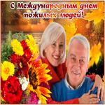 Картинка гиф с международным днем пожилых людей