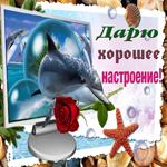 Картинка хорошего настроения с розой