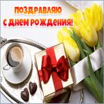 Картинка с днем рождения женщине, цветы любви