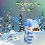 Картинка волшебница зима