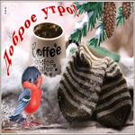 Классная зимняя открытка доброе утро