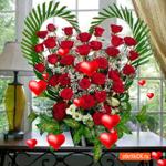 Корзины цветов тебе в подарок