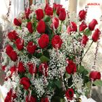 Открытка с цветами для девушки