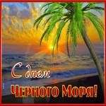 Красивая открытка День черного моря