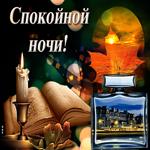 Красивая открытка спокойной ночи мужчине