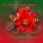 Любви, улыбок и цветов
