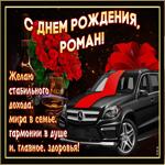 Мерцающая открытка с Днем Рождения, Роман