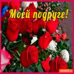 Моей подруге эти розы