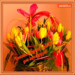 Музыка и цветы для друзей