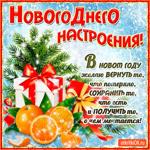 Новогоднего настроения желаю