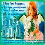 Очаровательная открытка Прощеное Воскресенье