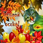 Открытка моя милая осень