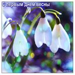 Первое марта день весны