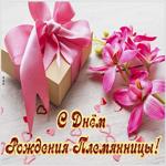Поздравительная открытка с днем рождения племянницы