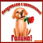 Поздравляю С Днём имени Галина