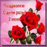Поздравляю с днем розы - 2 июня