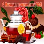 Прекрасная открытка Международный день чая