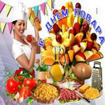 Прекрасная открытка на Международный день повара