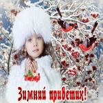 Приветик вам друзья мои с зимой