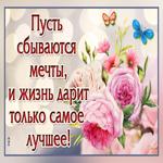 Пусть будет жизнь твоя прекрасная как эти цветы