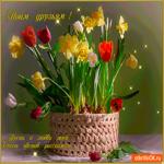 Пусть о любви цветы расскажут
