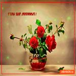 Розы для любимых друзей
