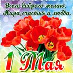С 1 мая - Всего доброго желаю