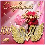 С 100 летием свадьбы