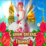С днём ангела Галина — красивые розы