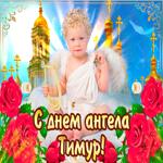 С днём ангела Тимур  — красивые розы