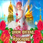 С днём ангела Ярослава— красивые розы