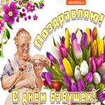 С Днем бабушек, всегда веселой будь