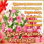 С Днём Рождения, Александра — красивые стихи