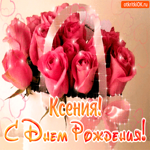 С днём рождения Ксении