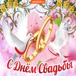 С днём свадьбы Желаю Счастья