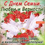 С Днём Семьи, любви и верности - Желаю любви, добра и благополучия