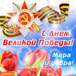 С Днём Великой Победы - Мира и добра